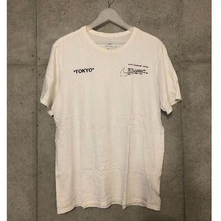 オフホワイト(OFF-WHITE)のNIKE × OFF-WHITE DSMG限定Tシャツ XXL(Tシャツ/カットソー(半袖/袖なし))