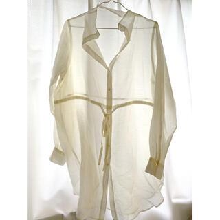 ローリーズファーム(LOWRYS FARM)のローリーズファーム シアーシャツ シースルーシャツ(シャツ/ブラウス(長袖/七分))