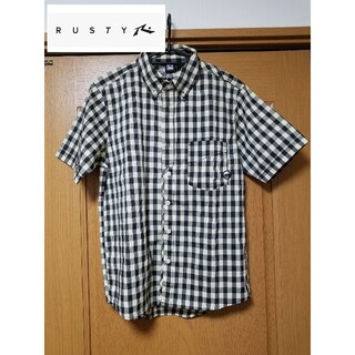 RUSTY - 【新品】RUSTY ラスィ チェック柄 半袖シャツ ギンガムチェック