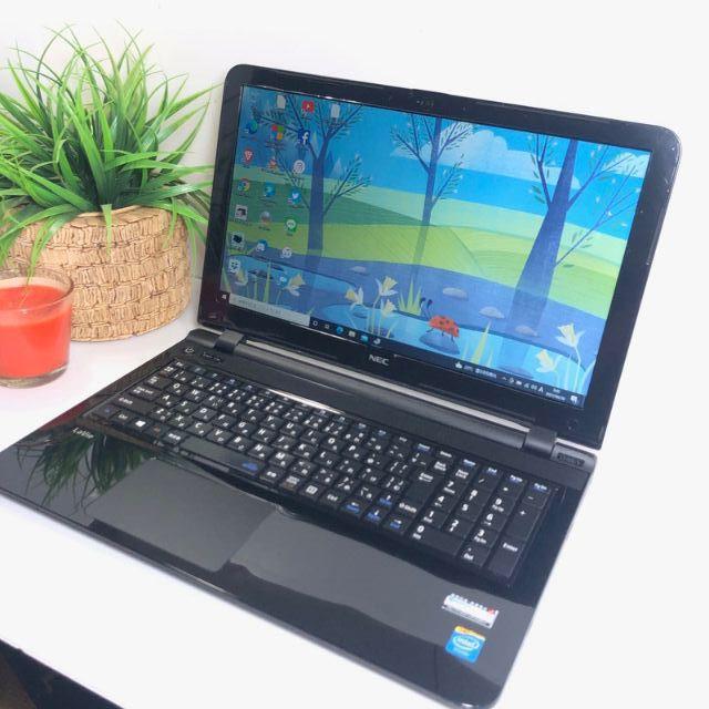 NEC(エヌイーシー)のNEC LS150S 薄型 SSD ノートパソコン 本体 Windows10 スマホ/家電/カメラのPC/タブレット(ノートPC)の商品写真