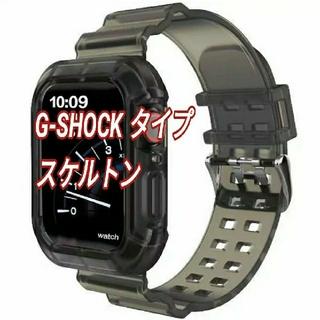Apple Watch G-SHOCK タイプ 透明 ベルト 38/40mm e