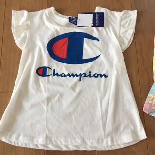 チャンピオン(Champion)の新品 チャンピオン半袖AラインTシャツ 120(Tシャツ/カットソー)