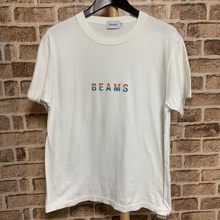 BEAMS - BEAMS Tシャツ メンズ M ホワイト 品番44