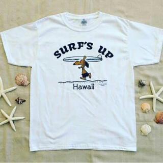 ピーナッツ(PEANUTS)のハワイ 日焼けスヌーピー Tシャツ親子セット(Tシャツ/カットソー)