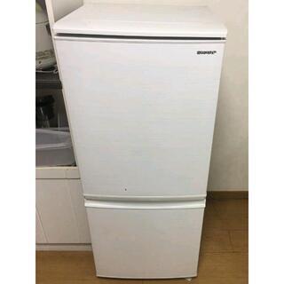 シャープ(SHARP)の※引き取り可能※ SHARP 2ドア冷蔵庫 137リットル 2019製(冷蔵庫)