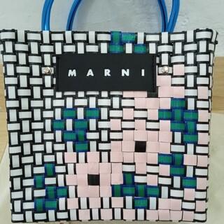 MARNI マルニ フラワー バスケット ミニ ホワイト
