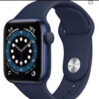 Apple Watch - 24h以内発送 アップルウォッチ 6 40mm  ブルー ディープネイビー