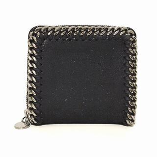 Stella McCartney - ステラマッカートニー 2つ折り財布 黒 合皮