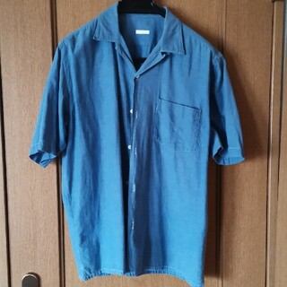 COMOLI - COMOLI / コモリ ベタシャンオープンカラーシャツ