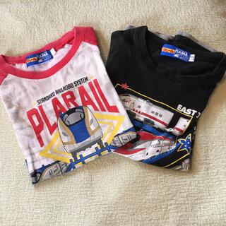 タカラトミー(Takara Tomy)の120cm プラレール Tシャツ 男の子 2枚セット(Tシャツ/カットソー)