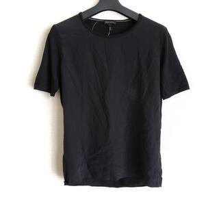エスカーダ(ESCADA)のエスカーダ 半袖カットソー サイズS - 黒(カットソー(半袖/袖なし))