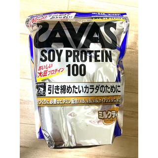 SAVAS - ザバス ソイプロテイン100 ミルクティー味