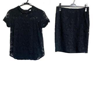 ドゥーズィエムクラス(DEUXIEME CLASSE)のドゥーズィエム スカートセットアップ - 黒(セット/コーデ)