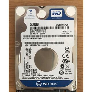2.5インチ HDD 500GB