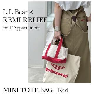 L'Appartement DEUXIEME CLASSE - 新品◇アパルトモン L.L.Bean Canvas Mini Tote Bag