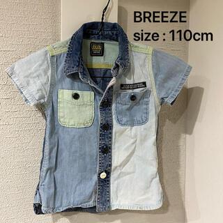 BREEZE - BREEZE  切り替えしデニムシャツ
