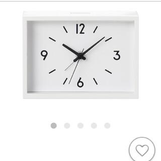 MUJI (無印良品) - MUJI 駅の時計アラームクロック