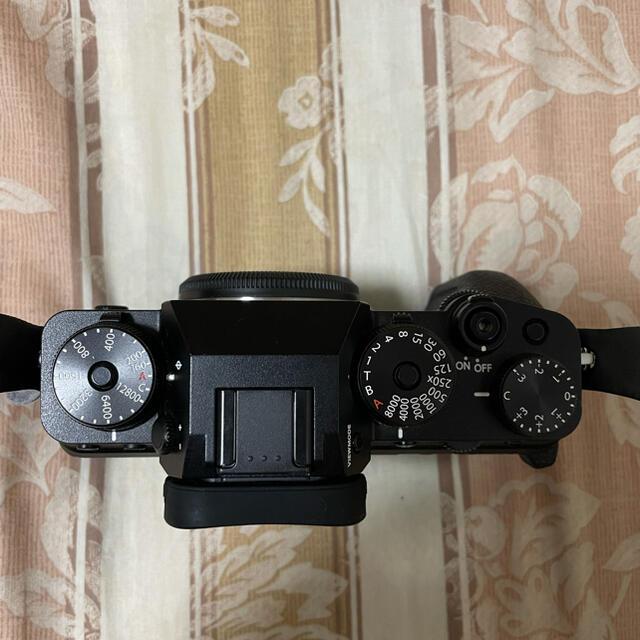 富士フイルム(フジフイルム)の【美品】富士フイルム X-T4(付属品多数) スマホ/家電/カメラのカメラ(ミラーレス一眼)の商品写真