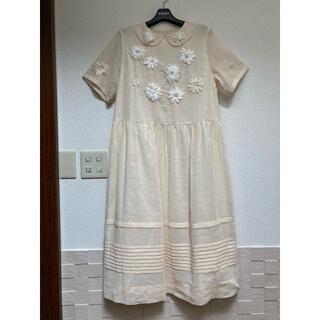 JaneMarple - ジェーンマープル Ribbon flower embroideryday ドレス