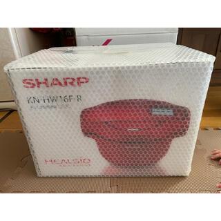 SHARP - SHARP 自動調理鍋 ヘルシオ ホットクック レッド系 KN-HW16F-R