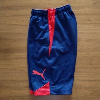 プーマ(PUMA)のPUMAハーフパンツ150サイズ紺色(ウェア)
