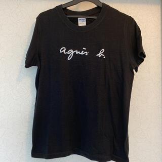 アニエスベー(agnes b.)のアニエスべー *Tシャツ *M 黒(Tシャツ(半袖/袖なし))