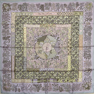 Hermes - 未使用 HERMES エルメス カレ 90 スカーフ プロヴァンスの花刺繍