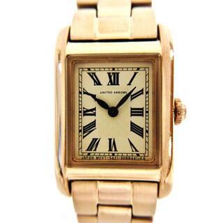 ユナイテッドアローズ(UNITED ARROWS)のアローズ 腕時計 5421-S058261 レディース(腕時計)