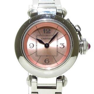 カルティエ(Cartier)のカルティエ ミスパシャSM W3140008 SS(腕時計)