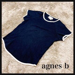 アニエスベー(agnes b.)のagnes b アニエスベー カットソー 無地 2色 ラグラン 3(カットソー(半袖/袖なし))