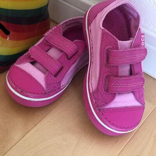 クロックス(crocs)のクロックス靴 美品(スニーカー)