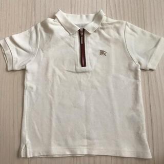 バーバリー(BURBERRY)の高級✨バーバリー ポロシャツ 100 白(Tシャツ/カットソー)
