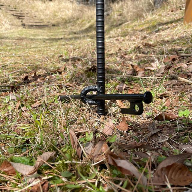 TAKE様 耐熱 1.2m   TYPE1   2連 3連  焚き火ハンガー スポーツ/アウトドアのアウトドア(ストーブ/コンロ)の商品写真