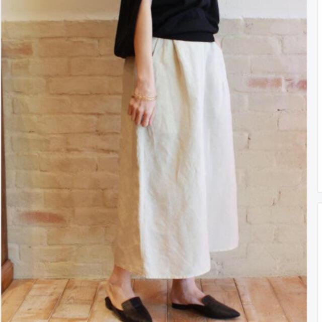 FRAMeWORK(フレームワーク)の専用 Philea L/Te イージースカート【グレー】 レディースのスカート(ロングスカート)の商品写真