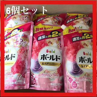 P&G ボールド アロマティックフローラル&サボンの香り1.26kg×6個セット(洗剤/柔軟剤)