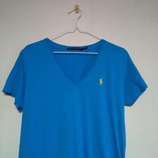 ラルフローレン(Ralph Lauren)のRALPH LAUREN SPORTS  Vネックシャツ(Tシャツ(半袖/袖なし))