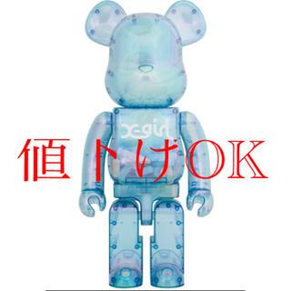 MEDICOM TOY - 2021 X-girl × BE@BRICK  1000%