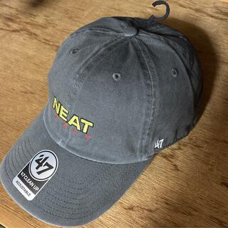 COMOLI - NEAT ITALY ニート CAP 47 フォーティーセブン キャップ