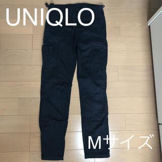 ユニクロ(UNIQLO)のユニクロ カーゴパンツ ネイビー (ワークパンツ/カーゴパンツ)