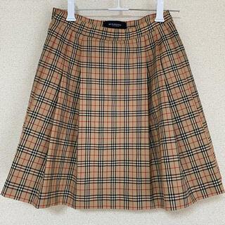 バーバリー(BURBERRY)の【BURBERRY】プリーツスカート(スカート)