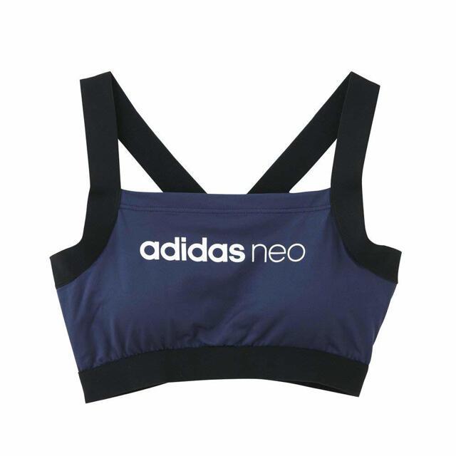 adidas(アディダス)の新品未使用タグ付きadidas neoノンワイヤーブラジャースポーツブラ ヨガ スポーツ/アウトドアのランニング(ウェア)の商品写真
