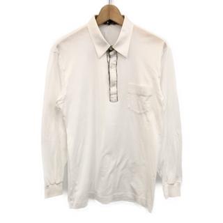 ダックス(DAKS)のダックス DAKS 長袖ポロシャツ    メンズ L(ポロシャツ)