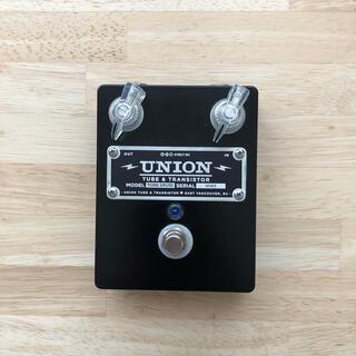 union tube & transistor tone druid(エフェクター)