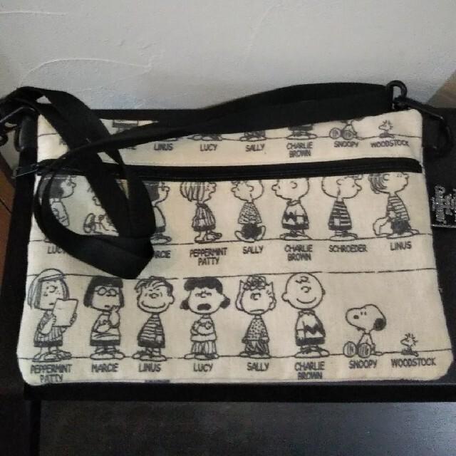 PEANUTS(ピーナッツ)のスヌーピー サコッシュ レディースのバッグ(ショルダーバッグ)の商品写真