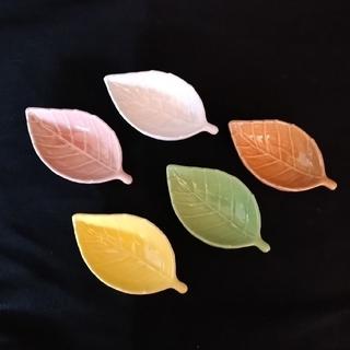 小皿 醤油皿 5個セット 【未使用】(食器)