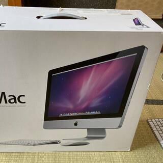 Apple - iMac 21.5インチCore i3 メモリ増設済み