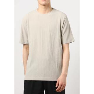 ナノユニバース(nano・universe)のnano・universe   シャーリングジャガードTシャツ(Tシャツ/カットソー(半袖/袖なし))
