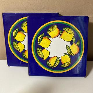 KALDI - KALDI レモン 陶器皿