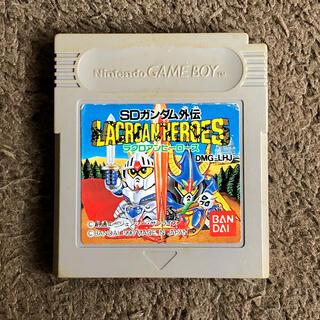 ゲームボーイ(ゲームボーイ)のGB 送料 SDガンダム外伝 LACROAN HEROES ゲームボーイ ソフト(携帯用ゲームソフト)