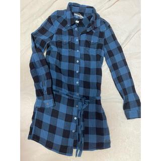 ディーゼル(DIESEL)の青チェックシャツ(シャツ/ブラウス(長袖/七分))